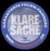 Klare Sache – Garantierte Folien-Fairness